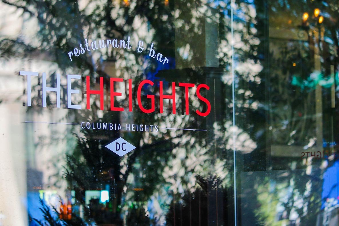 The Heights restaurant and bars in Columbia Heights, Washington, DC
