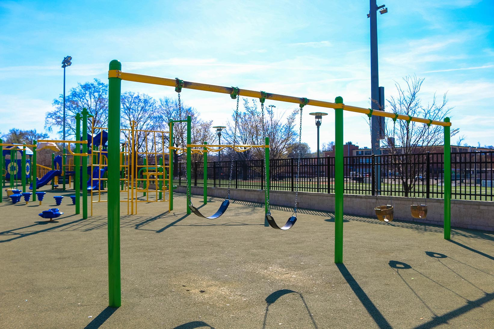 Community center playground in Deanwood, Washington, D.C.