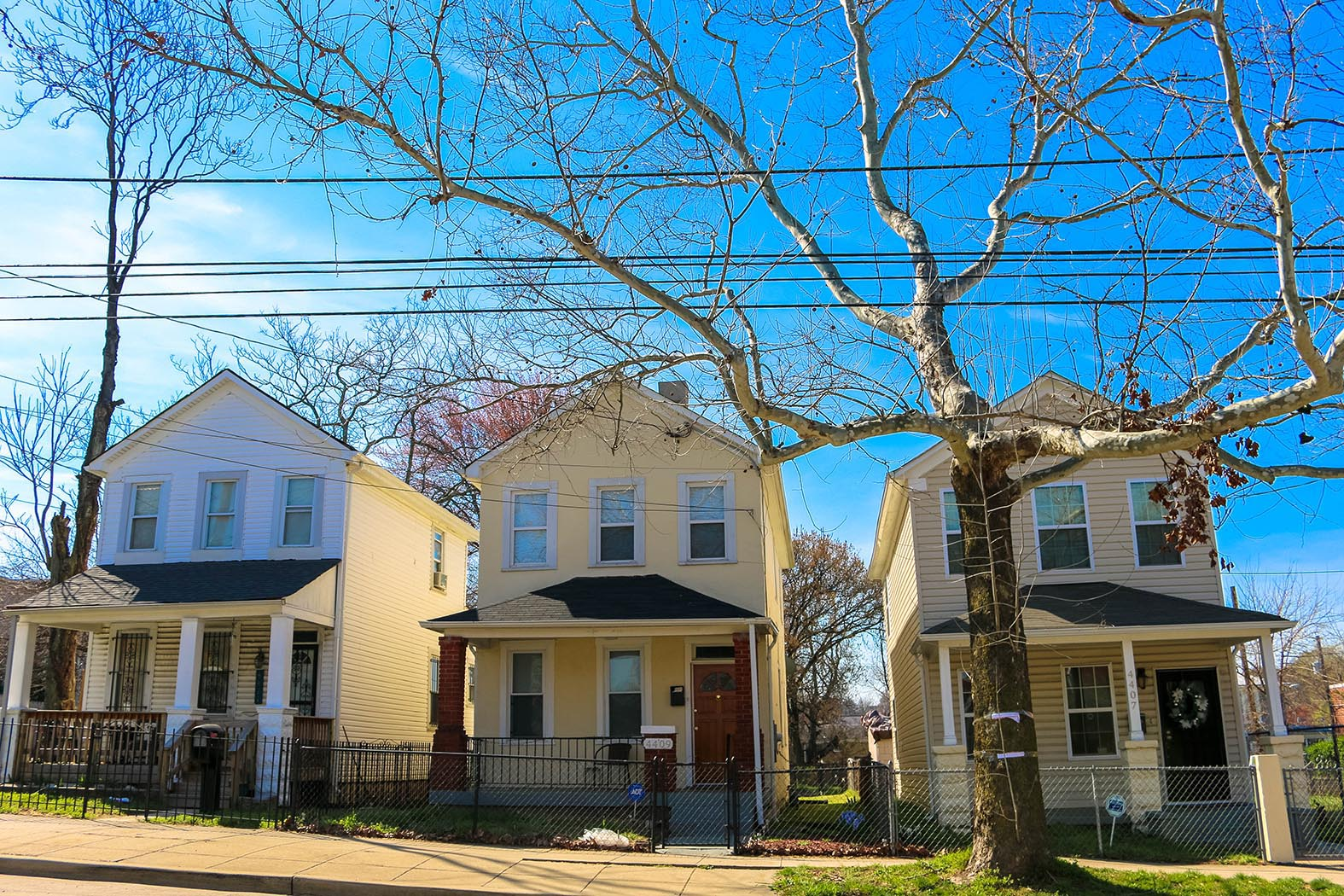 Single family homes in Deanwood, Washington, D.C.