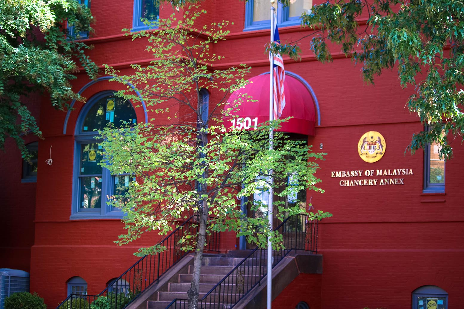 Malaysia embassy in Dupont Circle, Washington, D.C.