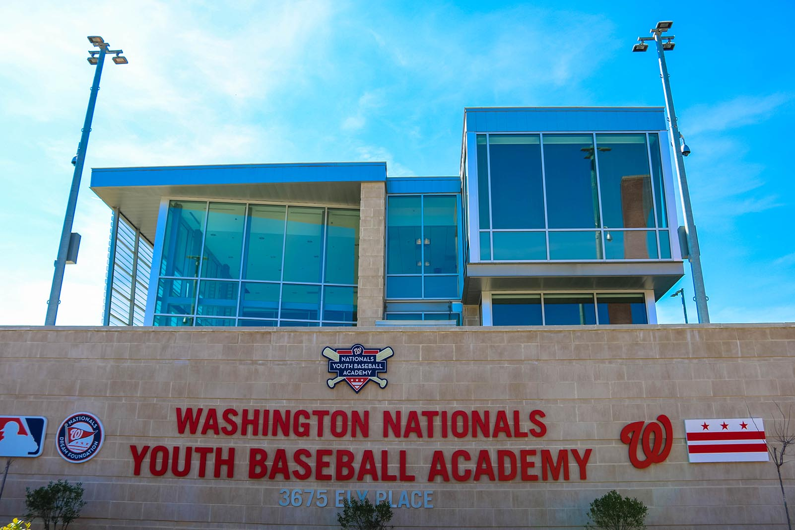 Washington Nationals Baseball Academy in Fort Dupont, MD